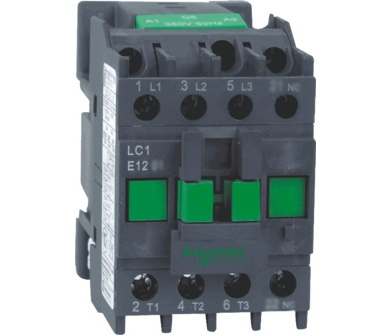 Контактор 9А 220В 1НО 3Р LC1E Schneider Electric