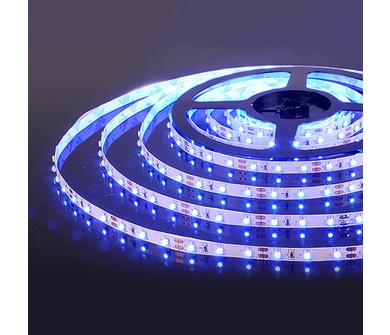 Светодиодная лента Ecola LED strip STD 14.4W/m 12V IP20 10mm 60Led/m Blue